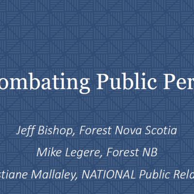 Combating Public Perceptions
