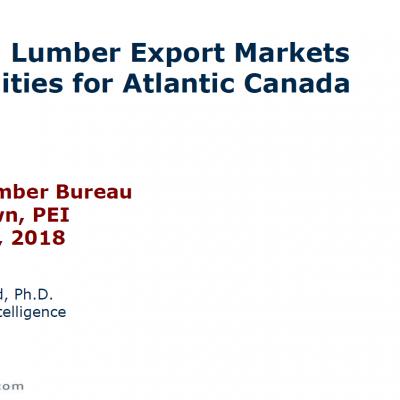 François Robichaud – Softwood Lumber Markets